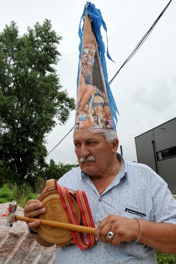 Milorad Skorković, čauš iz Čajetine