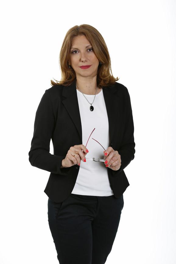 Vesna Mališić, zamenica glavnog urednika NIN-a