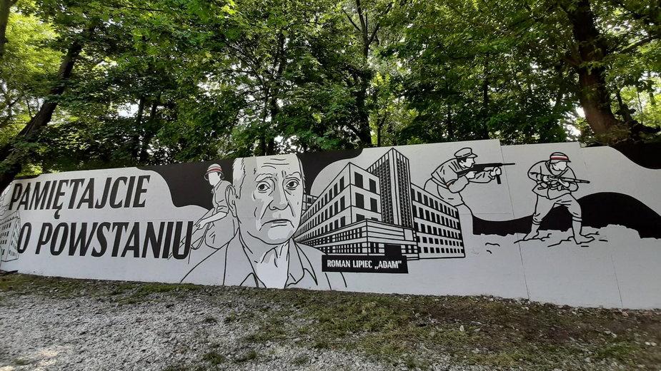 Wyjątkowy mural w Warszawie
