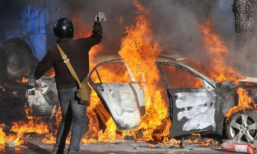Zamieszki w Kijowie