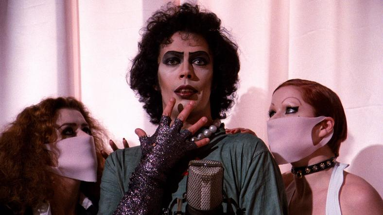 a review of the rocky horror picture show a cult movie The rocky horror picture show is a 1975 musical science-fiction horror in rocky horror from concept to cult  review aggregator website rotten tomatoes.