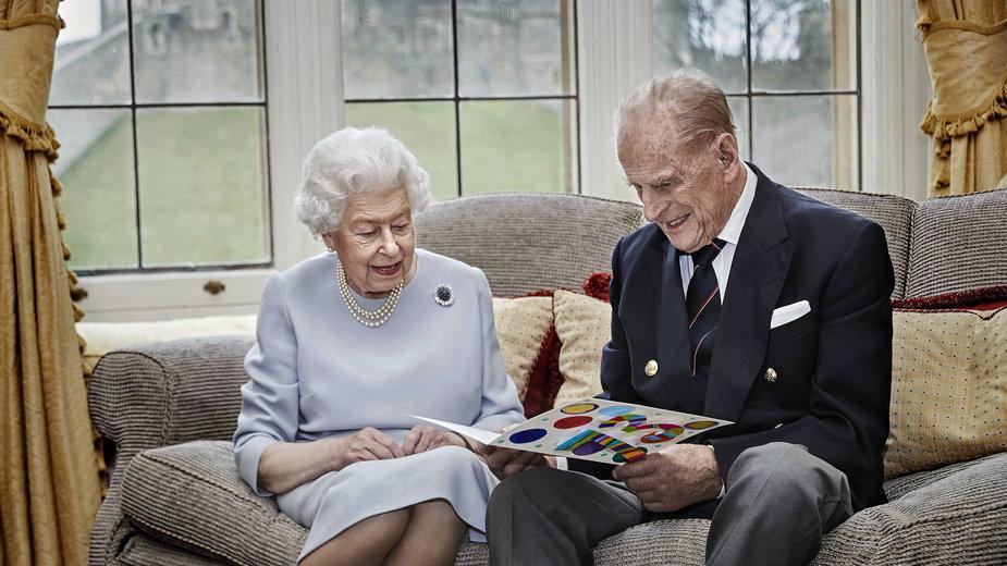 Książę Filip i Elżbieta II w 2020 r.