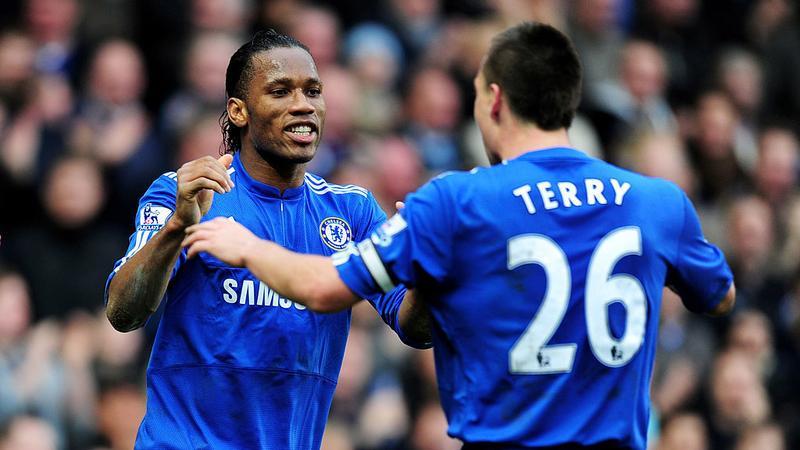 Didier Drogba i John Terry