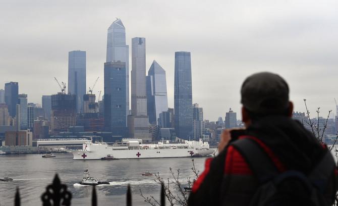 Pogled na Njujork ovih dana