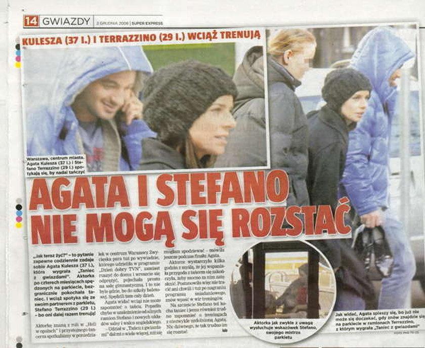 Agata i Stefano ciągle razem