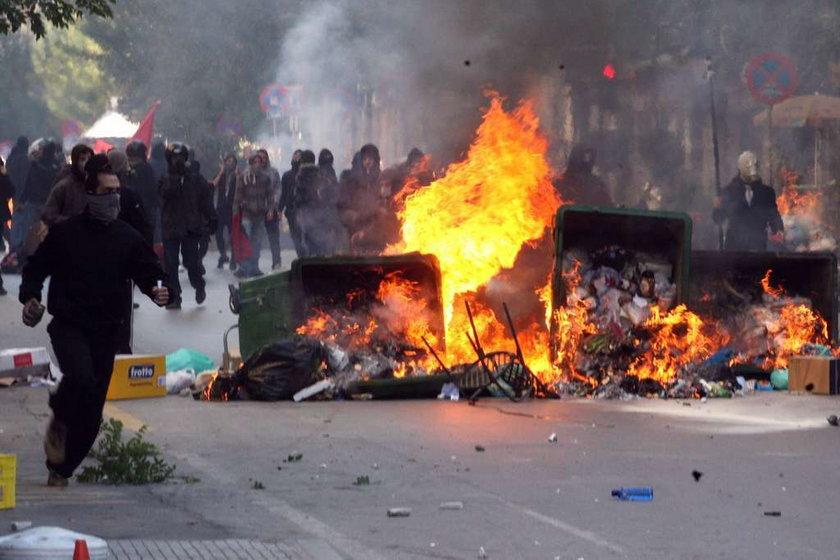 Demonstracje w Salonikach w 2011
