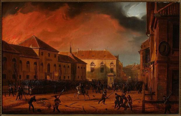 Wzięcie Arsenału, Powstanie listopadowe