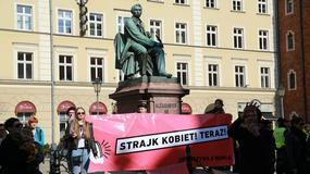 """Wrocławska manifa odbyła się pod hasłem """"Strajk kobiet teraz!"""""""