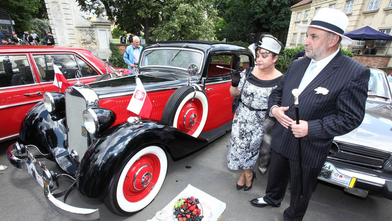 Polacy kochają zabytkowe samochody