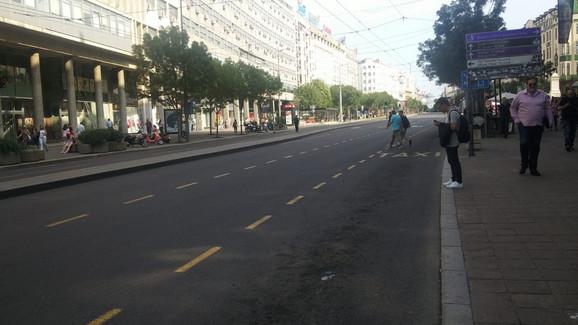 Zatvorene gradske ulice