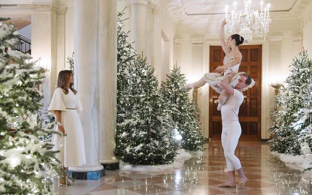 Melanija i balet u Beloj kući