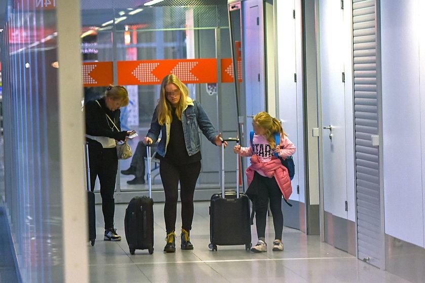 Magdalena Adamowicz zabrała córki do USA