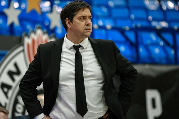 """""""Igraju mnogo brzo"""", Partizan opterećen povredama ima dva TEŠKA GOSTOVANJA, a Filipovski ne gubi nadu: Da izvučemo maksimum iz onoga što imamo"""