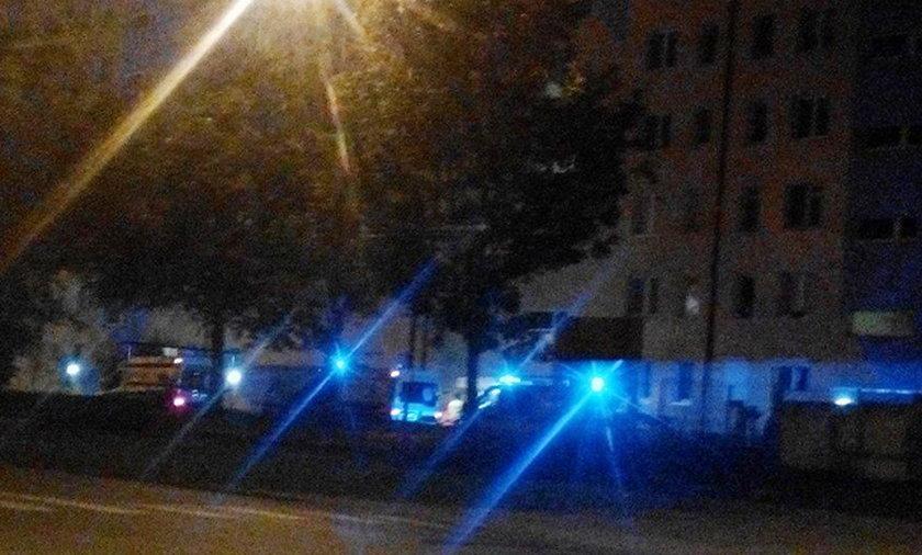 Nastolatek wypadł z okna w Gorzowie