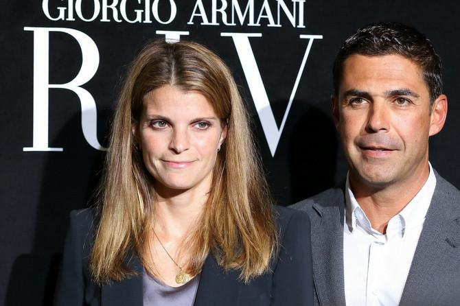 Atina sa bivšim suprugom