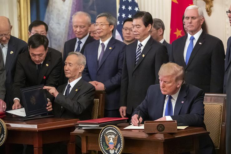 Tramp Kina trgovinski sporazum