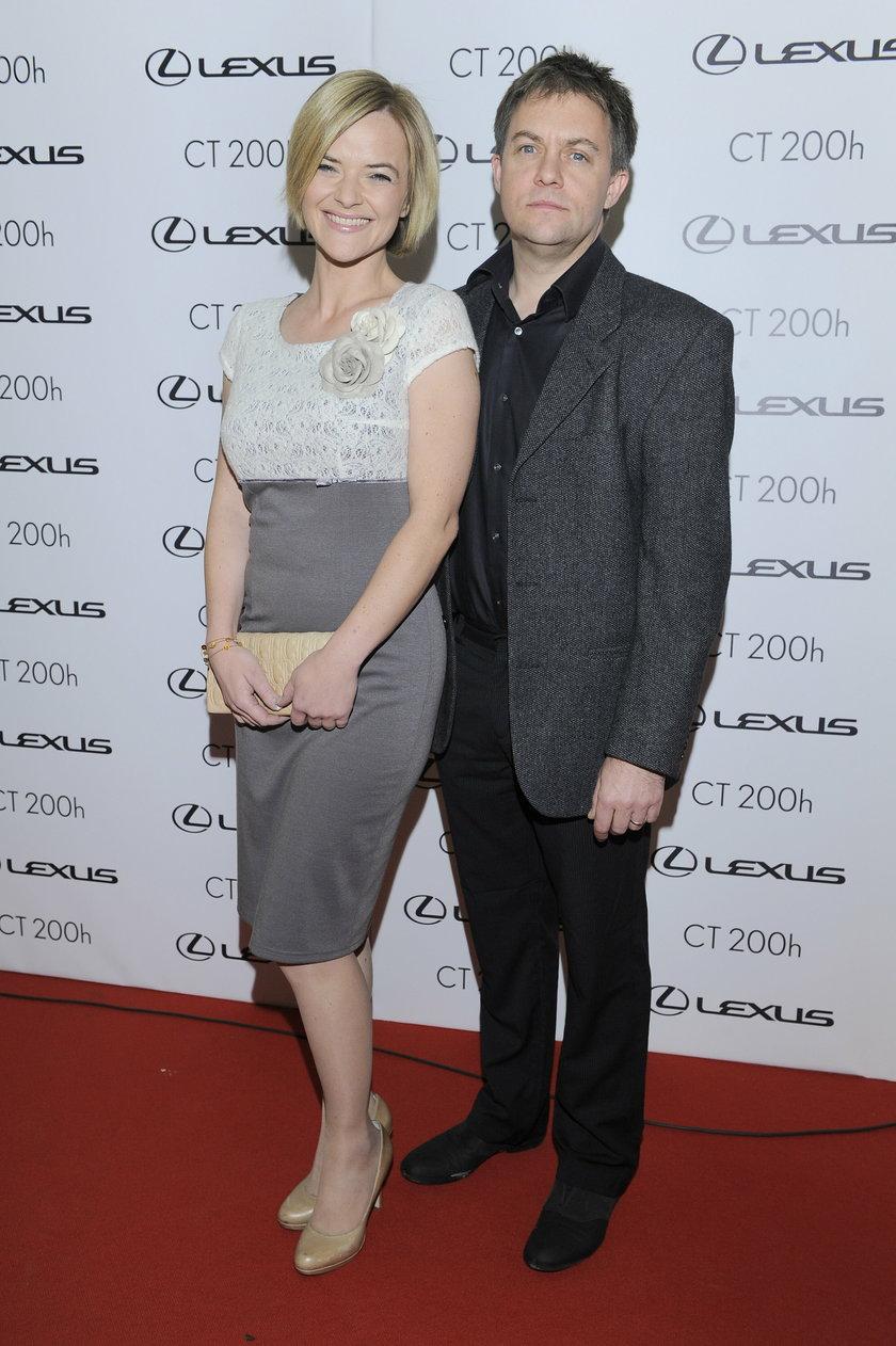 Monika Richardson z byłym mężem Jamie Malcolmem