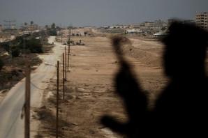 Pogođena dva položaja palestinskih militanata