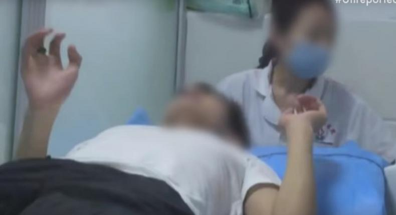 Chinese men undergo electrical shock therapy to 'cure' their homosexuality