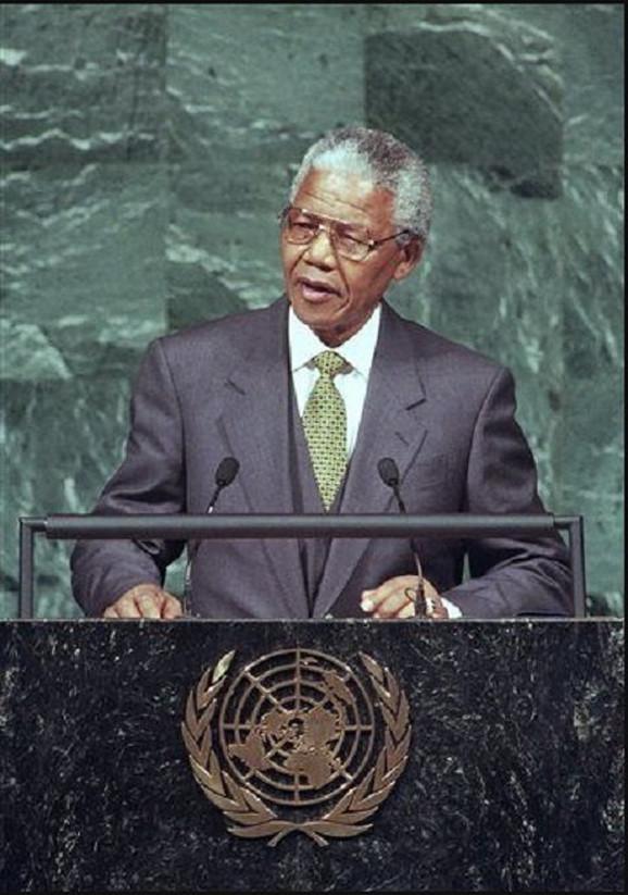 Nelson Mandela foto: AP