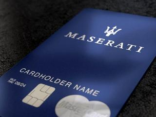 Karta Maserati World Elite MasterCard by Lion's Bank