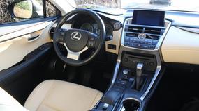 Lexus NX200t: HUD czyli kolorowy projektor wyświetlający dane na przedniej szybie samochodu
