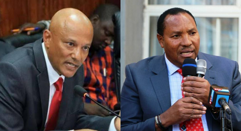 EACC CEO Twalib Mbarak  pitted against former Kiambu Governor Waititu
