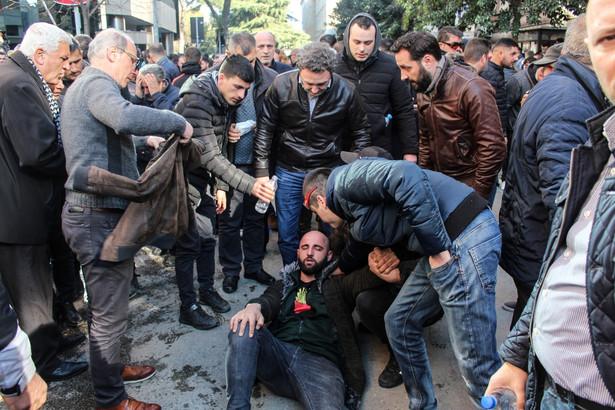 Albania protesty