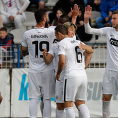 PREKID, DRAMA, PA CRNO-BELE MAJSTORIJE Partizan sa dva gola Asana savladao Radnik i plasirao se u POLUFINALE KUPA SRBIJE