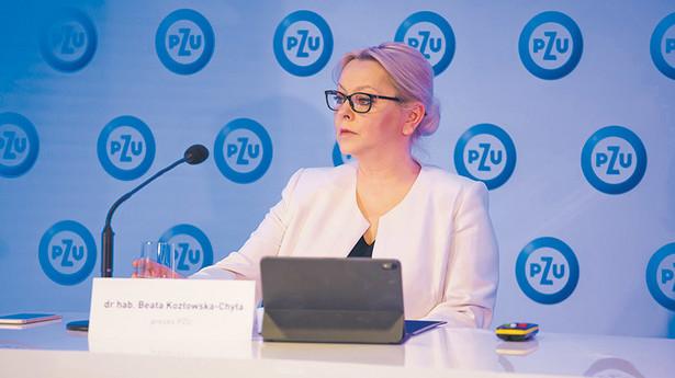 dr hab. Beata Kozłowska-Chyła, prezes PZU