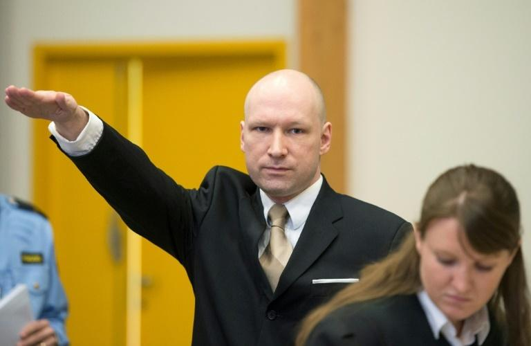 The New Zealand killer said he was inspired by Norway's Anders Breivik, who is serving a 21-year sentence for killing 77 people July 2011