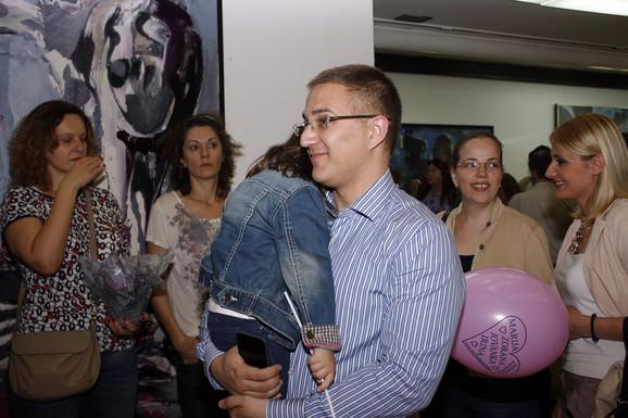 Druženju sa decom prisustvovao je i ministar Nebojša Stefanović