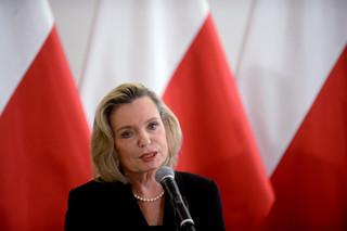 Anna Maria Anders odebrała zaświadczenie o wyborze na senatora