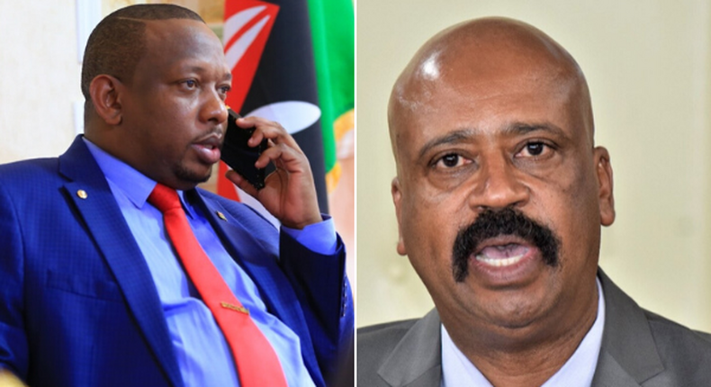 Governor Mike Sonko makes accusations against Nairobi Metropolitan Services (NMS)