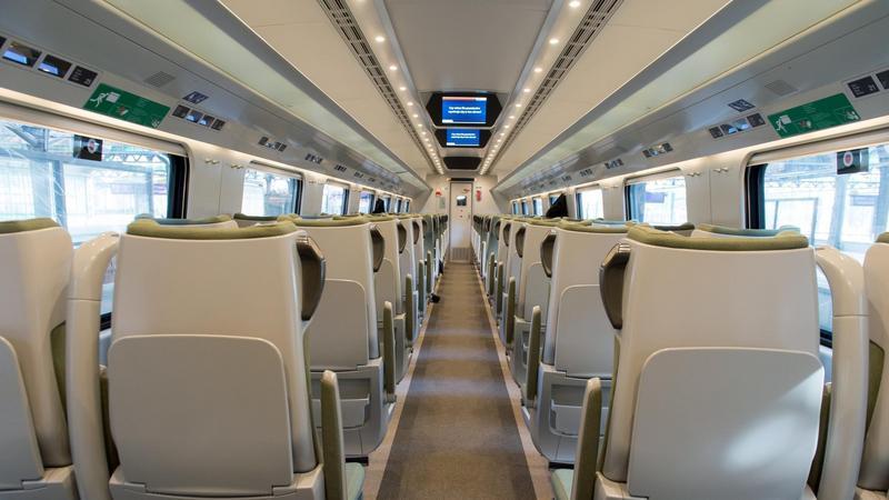 Strefa Ciszy w pociągu Pendolino PKP Intercity