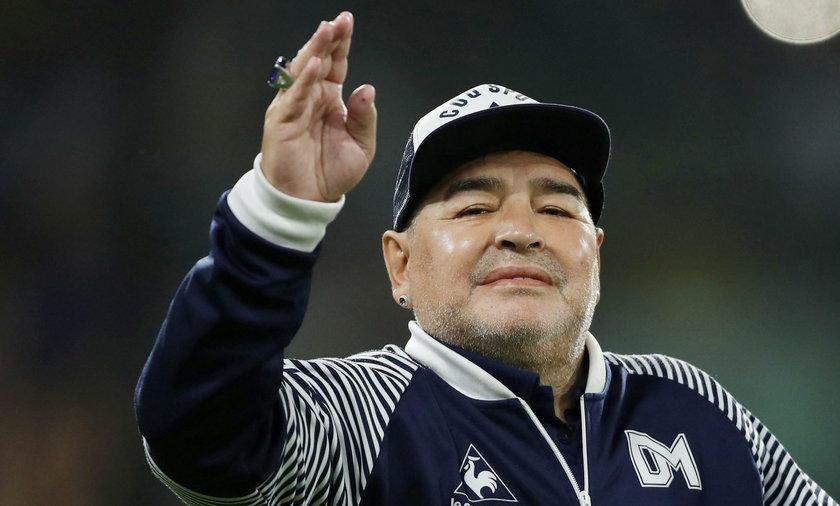 Diego Maradona trafiłdo szpitala