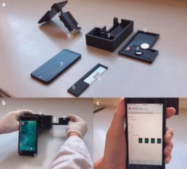 Test za koronu pomoću telefona