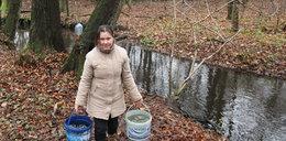 Musimy brać wodę z rzeki! Bo urzędnicy...