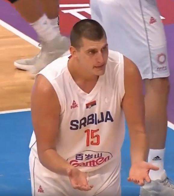 Nikola Jokić nije mogao da veruje šta su mu sudili