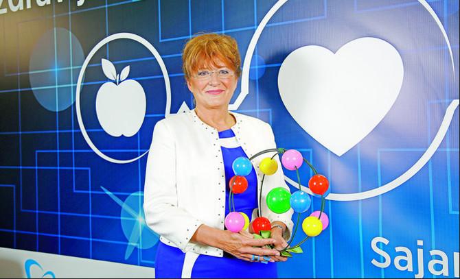 Prof. dr Nadežda Basara na Sajmu medinice i stomatologije u Beogradu