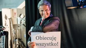 """""""Kochaj"""": Piotr Polk zaprezentował plakaty wyborcze"""