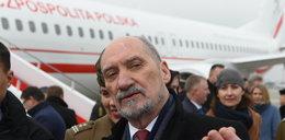 Sejm płaci za podróże Macierewicza do USA
