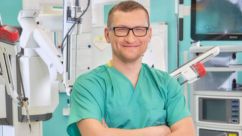Dr n. med. Michał Małek, specjalista urolog