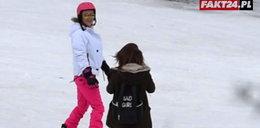 Doda na snowboardzie. Jak jej poszło?