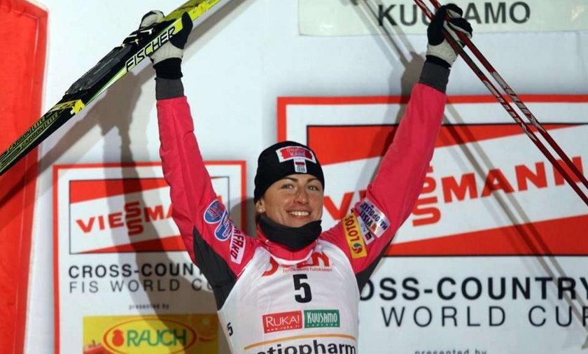 Justyna Kowalczyk wygrała spint w Kuusamo