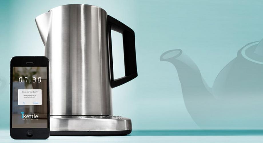 iKettle: Wasserkocher mit App-Anbindung