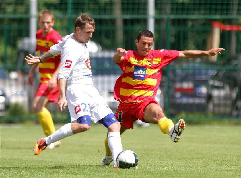 Trwa fatalna passa Jagiellonii Białystok, w sobotę przegrała sparing z Ruchem Chorzów aż 0:4
