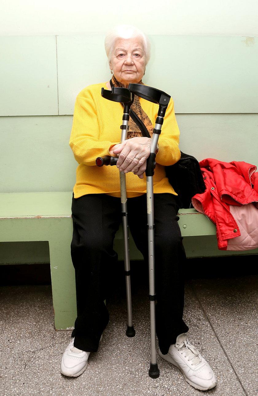 Anna Majer (74 l.) z Krakowa nie kryje żalu