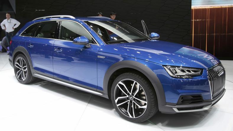 Audi A4 Allroad Quattro Oraz H Tron Quattro Concept W Detroit
