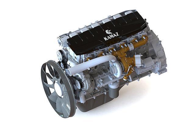 Nowy 12 litrowy silnik Kamaz 910